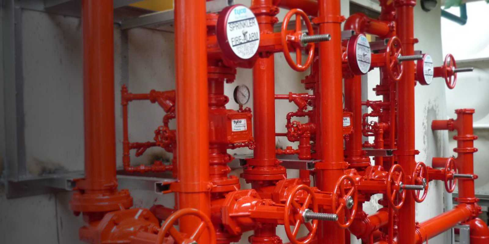 Fire protection devices and installations